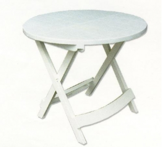 Round Foldable Garden Table Code: 655