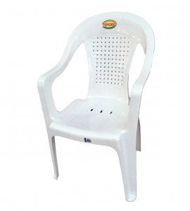 Plastic Arm Chair Code: 479