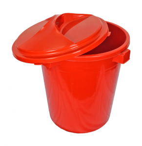 Pail With Lid, Code: 518