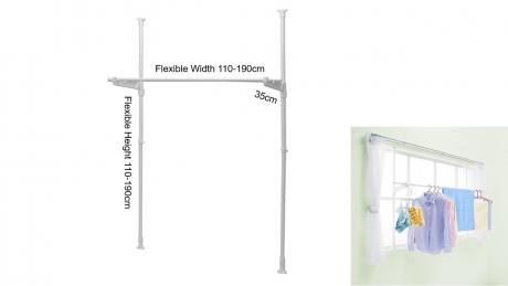 Window clothes hanger, code: SMW3190R