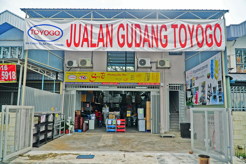 Gudang TOYOGO KL - 29, Jalan 9/118B, Desa Tun Razak, 56000 Kuala Lumpur.