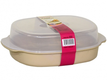 Oval Microwave Container, Code: 222