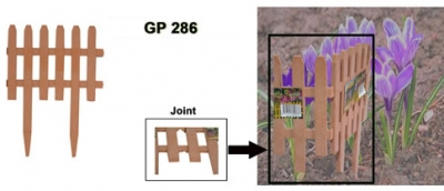 Plastic Fence, Code: GP 286