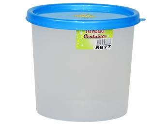 Round Container, Code: 8877