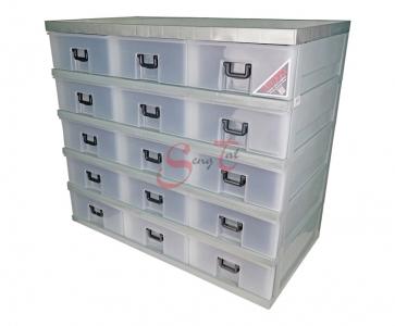 15 Drawers Storage Cabinet, Code: 921-5