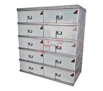 10 Drawers Storage Cabinet, Code: 922-5