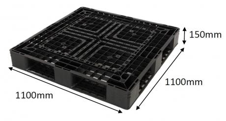 Plastic Pallet Code: P1111S15