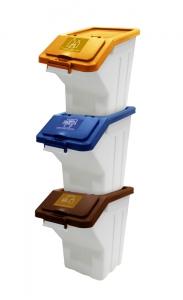 Recycle Dust Bin ( 3 unit /set)