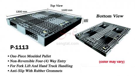 Plastic Pallet Code: P1113-G