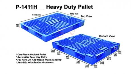 Plastic Pallet Code: P1411-H