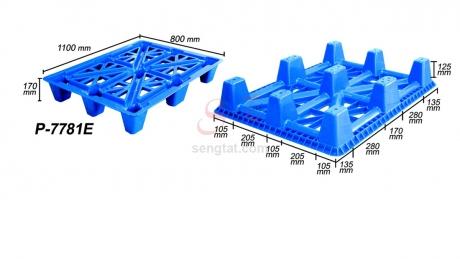 Plastic Pallet Code: P7781-E