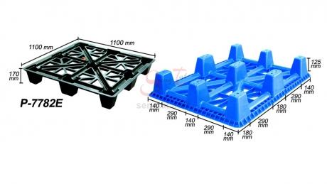 Plastic Pallet Code: P7782-E