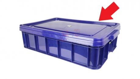 Cover for Industrial Stackable Container (Code: ID4908C)