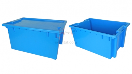 Nestable and Stackable Crate, Code: ID9103